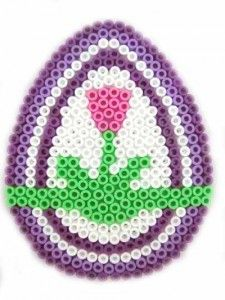 Hama Bead Easter Egg Pattern