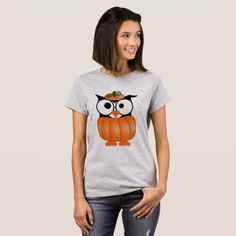 #Halloween Owl T-Shirt - #Halloween #happyhalloween #festival #party #holiday
