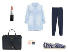 """""""Back to School 2"""" by girl-mintgreen on Polyvore featuring MAC Cosmetics"""