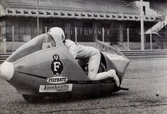 In 1965, a young Bristol UK woman was part of a team formed to beat the world scooter speed record. Marlene Parker, a taxi driver in the city, had been selected from 67 female applicants from across the country to ride a Lambretta scooter in Monza in Italy and break the world record of 110 miles an hour. http://scooterlounge.com/blog/2014/02/the-woman-who-flew.html