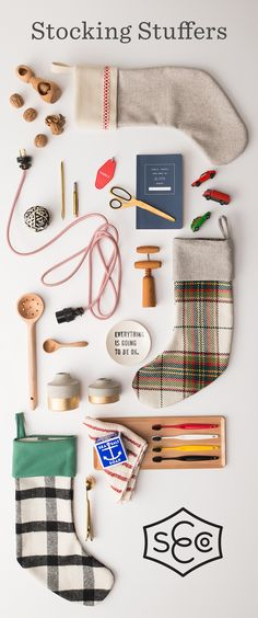 Well-designed gifts, bits and tools for productive living | Find the perfect stuffers for your stockings at Schoolhouse Electric & remember to gift well this year.