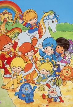 Rainbow Brite…See the shining light…cause I'm gonna take you to Rainbow Bri-i-ite. RB you were the BOMB! My Childhood Memories, Childhood Toys, Culture Art, Rainbow Brite, Classic Cartoons, The Shining, The Good Old Days, Cartoon Characters, Vintage Toys