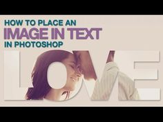 Video: How to Place an Image in Text in Photoshop