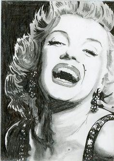 Marilyn Monroe 1 The Artwork - www.artkingmalc.co.uk