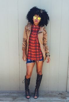 """ecstasymodels: """"Fall Is Coming Coat- www.forever21.com Top- www.mago.com Shorts- www.jcpenneys.com Shoes- F21 Fashion By Made Alike Style """""""