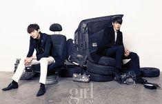RUNWAY BATTLE: Lee Jong Suk vs. Kim Woo Bin