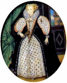 thought to be Penelope Devereux, Lady Rich, later Countess of Devonshire, by Nicholas Hilliard, 1590s