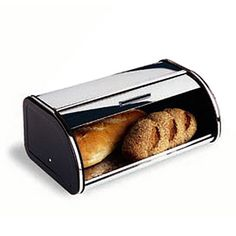 Brabantia® Chrome Bread Box