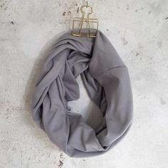 Infinity Scarf - Light Grey