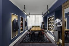 Turnbull & Asser announce Mayfair store opening Shop Interior Design, Retail Design, Store Design, Suit Stores, Tailor Shop, Retail Concepts, Suit Shop, New Shop, Visual Merchandising