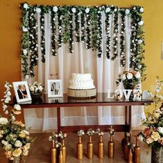 Ideas For Wedding Flowers Decoration Tea Parties Wedding Ceremony Ideas, Wedding Themes, Reception, Flower Decorations, Wedding Decorations, Dream Wedding, Wedding Day, Anniversary Decorations, Deco Originale