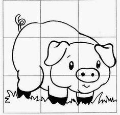AMIGA DA EDUCAÇÃO.: LIVRO A OVELHA ROSA DA DONA ROSA COM SUGESTÕES DE ATIVIDADES E MODELOS DE LEMBRANCINHAS PARA PÁSCOA. Puzzles For Kids, Activities For Kids, Coloring For Kids, Coloring Pages, Diy Quiet Books, Free Kindergarten Worksheets, Petite Section, Kids Class, Farm Theme