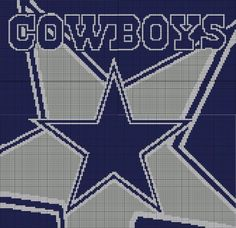 Dallas Cowboys Knit Hat Pattern : 1000+ images about Dallas Cowboys on Pinterest Dallas cowboys, Dallas cowbo...