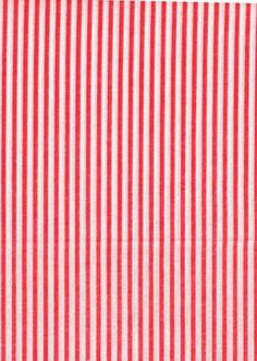Red and whit pinstripes   RESERVED for jobetts - pinstripe red and white cotton fabric - two ...