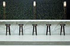 Sleek Sustainable Eateries - The Beef Bar in Mexico City Puts Focus on Lush Greenery (GALLERY)