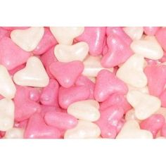 Pink and White Jelly Hearts (Strawberry and Vanilla) 1 Kilo Bag: Amazon.co.uk: Grocery