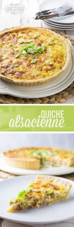 Quiche Alsacienne {