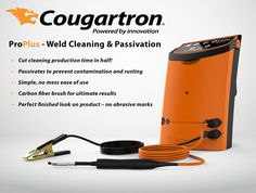 If you're #welding #stainless... you need #Cougartron cleaning and #passivation equipment!