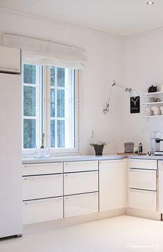 Kitchen, white, scandinavian