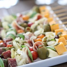 Antipasto Kabobs   Inspired by Charm