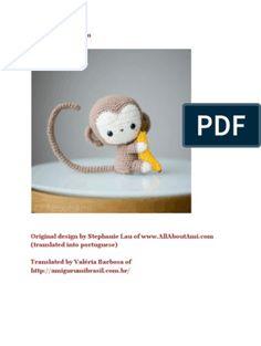 Amigurumi pattern Birthday Cake by Crochet Sole, Sc Crochet, Double Crochet, Monkey Pattern, Crochet Patterns Amigurumi, Baby Booties, Baby Headbands, Crochet Clothes, Minions