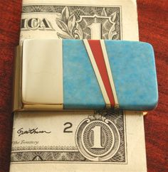 Turquoise Money Clip Men Wallet Accessories by jammerjewelry