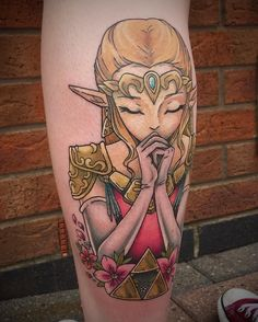 50 Amazing Legend of Zelda Tattoos – Gaming Has Never Looked This Good Check more at http://tattoo-journal.com/best-zelda-tattoo-designs-meaning/