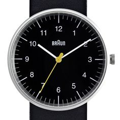 Braun BN0021 large watch by Braun. Available at Dezeen Watch Store: www.dezeenwatchstore.com