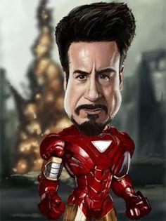 Rich Conley Art--Ironman-Robert Downey Jr.