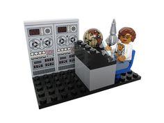 "LEGO Ideas - Women of NASA - Katherine Johnson (featured in the film ""Hidden Figures"") Hidden Figures, Lego Figures, Katherine Johnson, Nasa History, Lego Store, Lego Minifigs, Lego Group, Lego News, Inspiration For Kids"
