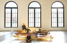 Translucent Skin-on-frame kayaks