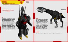 Profile page for Scimitar, my Elaphosaurus Dinobot OC. His Pre-Earth, 'Dynobot' form can be seen here-