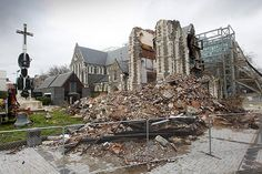 New Zealand Earthquake, 2011  On February 22, 2011, a 6.3 earthquake in New Zealand killed 185 people and injured thousands more. The earthquake's epicenter was just over 6 miles from Christchurch, causing $15 billion New Zealand dollars ($10.4 billion U.S. dollars) worth of damages to the city. A 7.1 magnitude earthquake that occurred five months earlier was larger, but less destructive than the February earthquake because it wasn't as shallow.