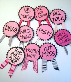 Planning a bachelorette party and haven't decided on the decor? Then we are here to help. We have found 23 affordable and fun bachelorette party decorations. Bachlorette Party, Bachelorette Sash, Bachelorette Party Decorations, Bachelorette Weekend, Wedding Decorations, Bachelorette Parties, Friend Wedding, Wedding Day, Lingerie Party