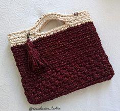 Straw Bag, Knitting, Crochet, Bags, Manualidades, Handbags, Tricot, Breien, Stricken
