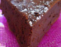 Recette - Gâteau moelleux au chocolat et aux petits suisses (sans beurre)   750g