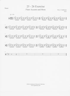 Inspired by the Cavaliers Snare Line... Flam Accents with Cheese  Get More Gooder!!!