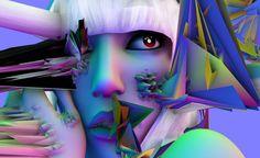 Lady Gaga by David O'Reilly    http://www.seagull-guitars.com/3dsonystore