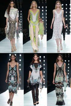 Roberto Cavalli milan fashion week 2013