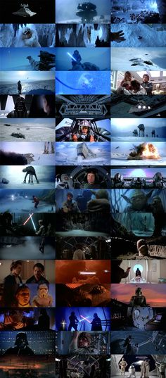 Star Wars The empire strikes back cinematography cinegrid