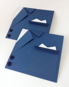 Navy  Blue Suit and tie card. Will you be my  Best man. Ask a Groomsman Invitation. Fathers days Card