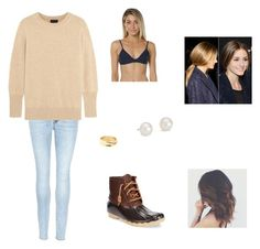 """""""Untitled #119"""" by abby-nelson1015 on Polyvore featuring J Brand, Sperry, J.Crew, Repossi and Blue Nile"""
