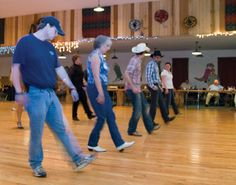 Why's line dancing a lot of fun?