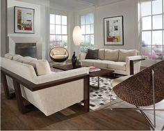 Lloyd sofa from Thayer Coggin
