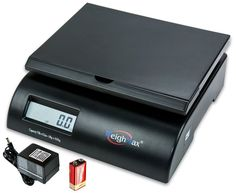 75LB postal shipping scale, Battery and AC Adapter Included #Weighmax