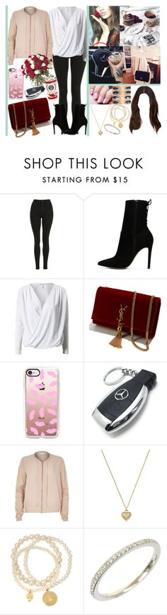 """mood: 🔥🙆"" by momochen95 ❤ liked on Polyvore featuring Topshop, ALDO, Notion 1.3, Yves Saint Laurent, Casetify, Mercedes-Benz, River Island, Michael Kors, Sandra Magsamen and Tiffany & Co."