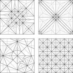 Robert Lang origami patterns