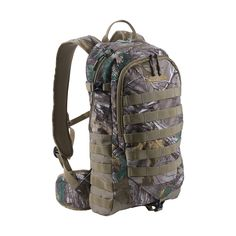 The Allen Company Mission MOLLE Daypack has integrated external MOLLE webbing for attaching accessory pouches. This hydration ready pack features quiet brushed tricot fabric in Realtree Xtra camo to help you go unnoticed and is packed full of feat Hunting Bags, Hunting Gear, Hunting Accessories, Truck Accessories, Tricot Fabric, Best Home Gym Equipment, Flat Shapes, Hunting Season