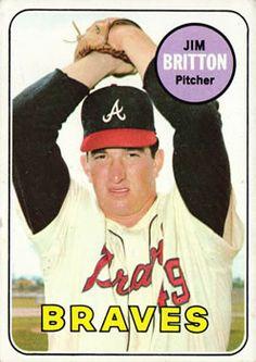 1969 Topps #154 Jim Britton