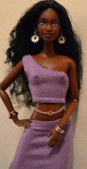 Jewel- Formally Babyphat Chandra (Gypsy X) Tags: ooak barbie artdoll jewel muneca aabarbie anatomicallycorrectdoll ooakbarbie africanamericanbarbie barbierepaint soinstylebarbie soinstylechandra ooakken kenrepaint babyphatchandra